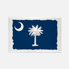 South Carolina Flag - Palmetto State Rectangle Mag