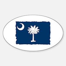 South Carolina Flag - Palmetto State Decal