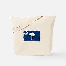 South Carolina Flag - Palmetto State Tote Bag