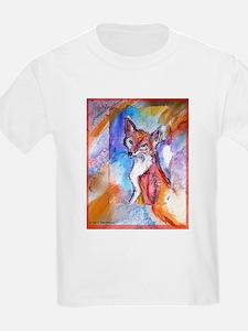 Fox, colorful, T-Shirt