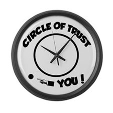 Circle of trust Large Wall Clock
