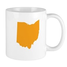 Orange Ohio Mug