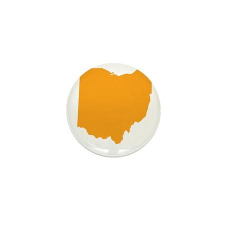 Orange Ohio Mini Button (10 pack)