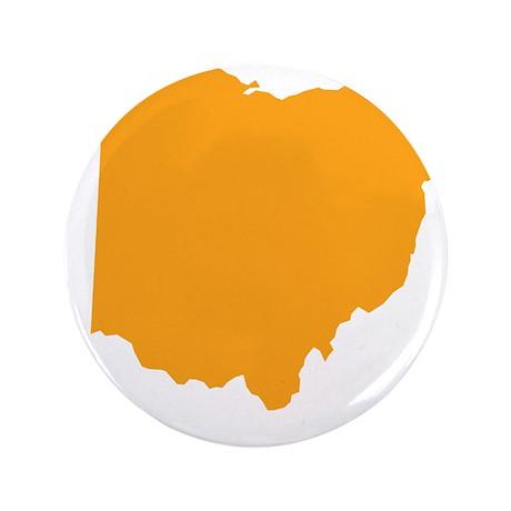"Orange Ohio 3.5"" Button"