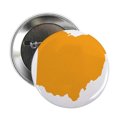 "Orange Ohio 2.25"" Button (100 pack)"