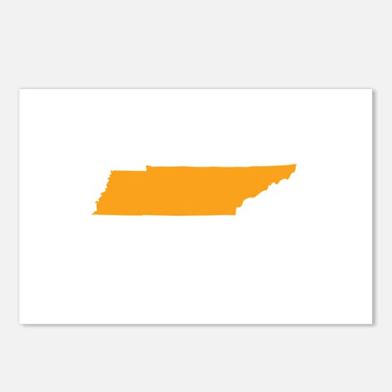 Orange Tennessee Postcards (Package of 8)