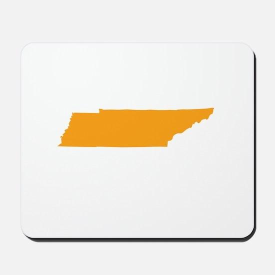 Orange Tennessee Mousepad