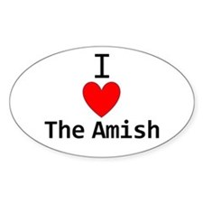 Cool Amish Decal