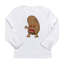 Cute Android Long Sleeve Infant T-Shirt