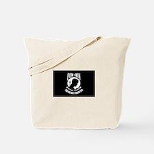 POW MIA Military Flag Tote Bag