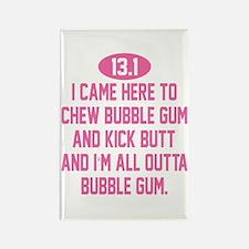 Cute Bubble gum Rectangle Magnet