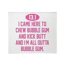 Unique Bubble gum Throw Blanket