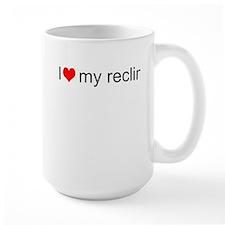 I Love My Recliner Mug