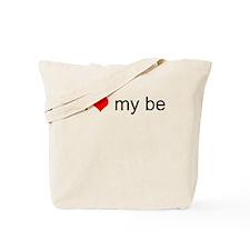 I Love My Bed Tote Bag
