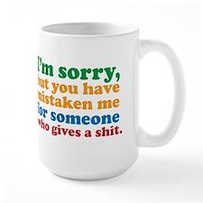 I Don't Care Mug