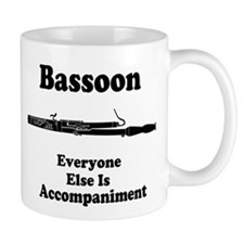 Funny Bassoon Small Mug