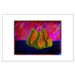 Three Pears Large Poster