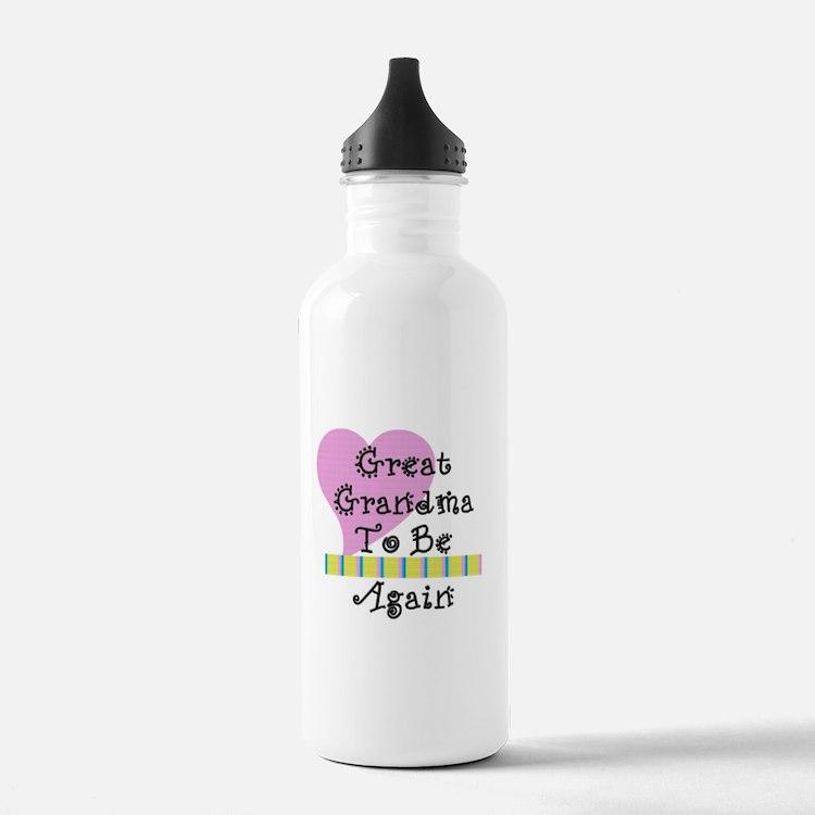 Great Grandma To Be Again Str Water Bottle