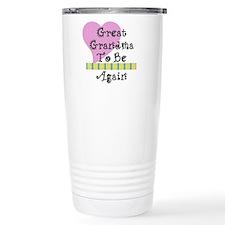 Great Grandma To Be Again Str Travel Mug