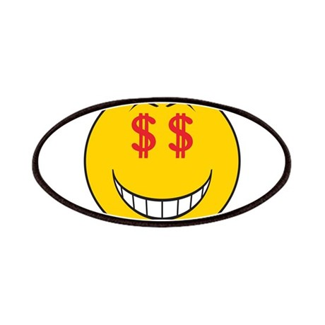 Money Eyes (Greedy) Smiley Fa Patches