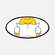 Reading Smiley Face Patches