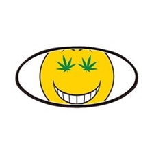 Pothead Smiley Face Patches