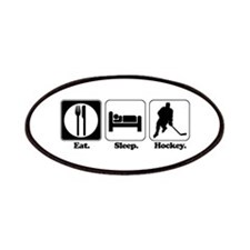 Eat. Sleep. Hockey. Patches