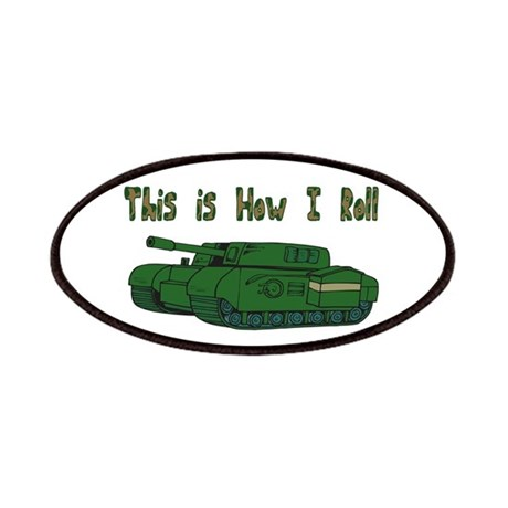 How I Roll (Military/Army Tan Patches