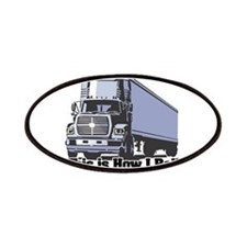How I Roll (Tractor Trailer) Patches
