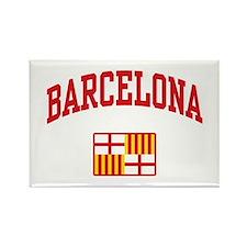 Barcelona Rectangle Magnet