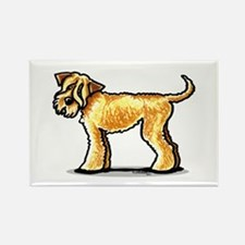 Soft Coated Wheaten Terrier Rectangle Magnet