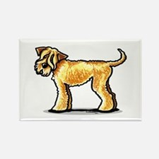 Soft Coated Wheaten Terrier Rectangle Magnet (10 p