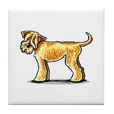 Soft Coated Wheaten Terrier Tile Coaster