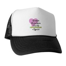 Great Grandpa To Be Again Str Trucker Hat