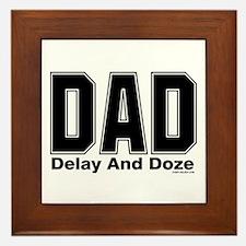 Dad Acronym Framed Tile