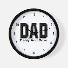 Dad Acronym Wall Clock