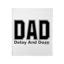 Dad Acronym Throw Blanket