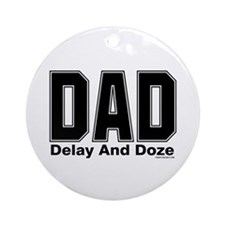 Dad Acronym Ornament (Round)