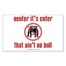 Neuter it's Cuter Decal