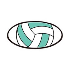Funny Volleyball Belly Patches