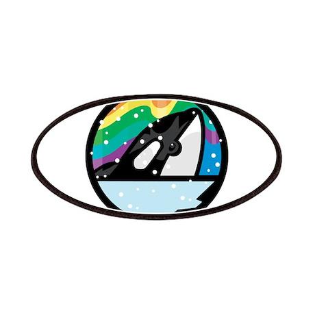 Orca Killer Whale Circle Desi Patches
