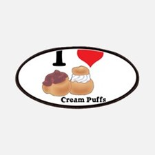 I Heart (Love) Cream Puffs Patches