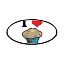 I Heart (Love) Muffins Patches