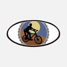 Mountain Bike Chain Design Patches