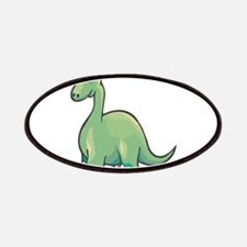 Cute Brontosaurus Patches
