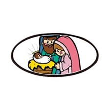 Cute Nativity Scene Patches