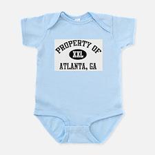 Property of Atlanta Infant Creeper