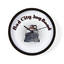 Mad City Jug Band Wall Clock