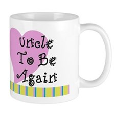 Uncle To Be Again Stripes Mug