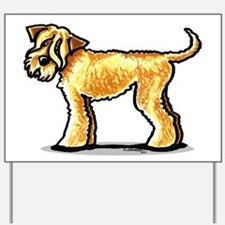 Soft Coated Wheaten Terrier Yard Sign